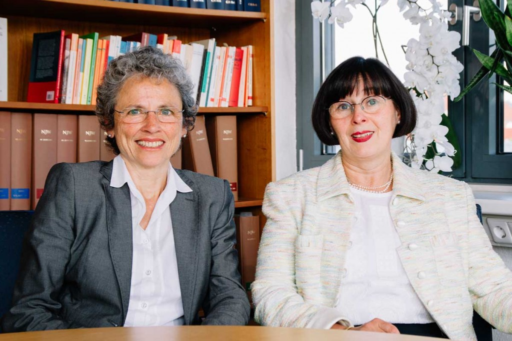 Stute Rechtsanwälte Erfurt - Rechtsanwältin Evemarie Herbolsheimer und Rechtsanwältin Annett Stute